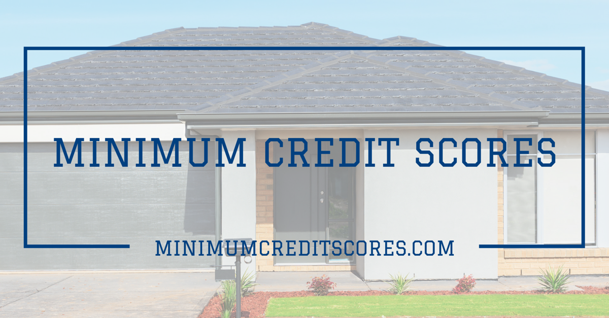 minimum credit scores- HOMEPAGE